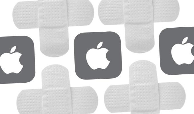 وصله های امنیتی اپل